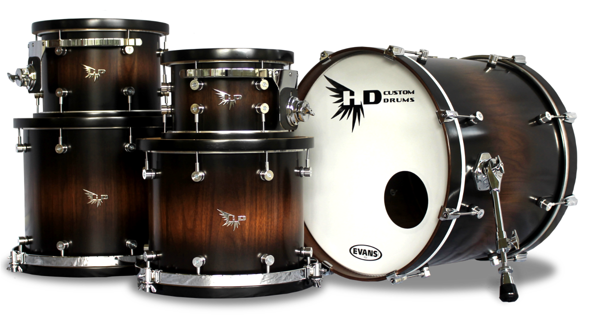 archetype stave series custom drum kits hendrix drums. Black Bedroom Furniture Sets. Home Design Ideas