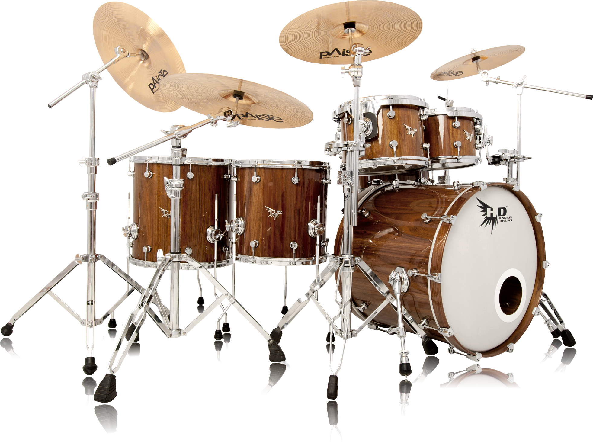 archetype series drum kit overview hendrix drums. Black Bedroom Furniture Sets. Home Design Ideas